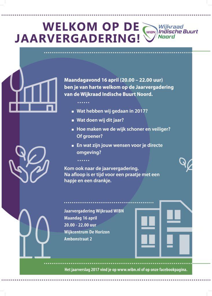Jaarvergadering WIBN 2018 poster